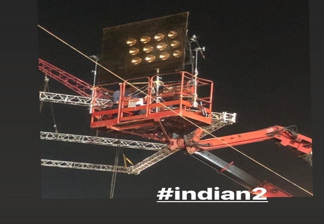 Three die after crane collapses on set of Kamal Haasan-starrer 'Indian 2'