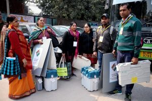 Delhi votes on Feb 8, poll body gears up for Assembly polls (PICs)