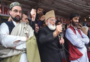 2 arrested from Syed Ali Shah Geelani's residence in Srinagar