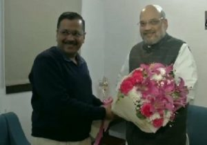Arvind Kejriwal meets Amit Shah, says no discussion on Shaheen Bagh