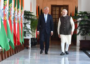 PM Modi, Portugese President hold delegation-level talks; India, Portugal ink seven pacts