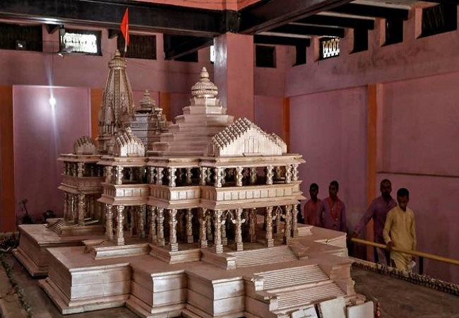 First meeting of Ram Temple Trust today, likely to finalise construction deadline