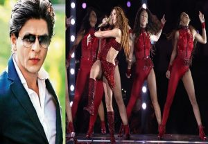 Shah Rukh calls Shakira 'all time favourite', shares picture of her Super Bowl performance