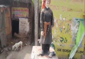 Swami Vivekananda's statue vandalised in Murshidabad district of West Bengal
