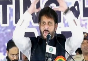 FIR lodged against AIMIM's Waris Pathan for '15 crore tough on 100 crore' remark