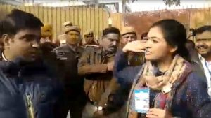 Delhi Elections 2020: Alka Lamba slaps AAP worker at polling booth over comment on her son