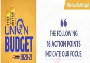Budget 2020: 16-point action plan for agriculture