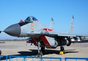 MIG 29K aircraft on training sortie crashes in Goa, pilot safe