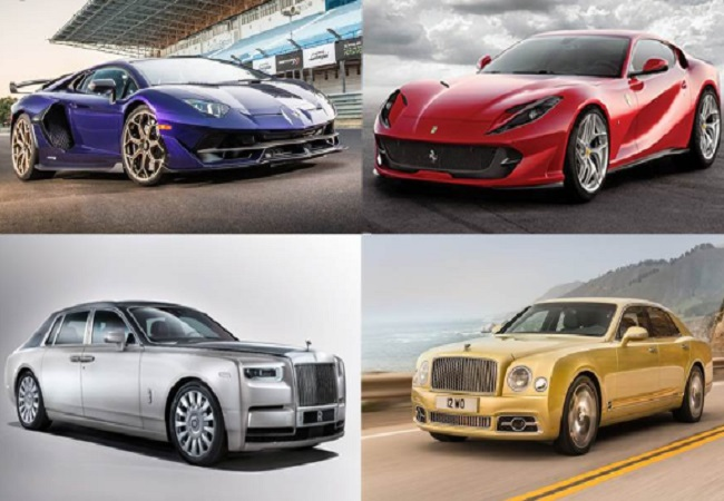 expensive cars -