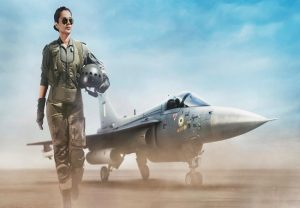 Kangana Ranaut looks captivating as fighter pilot in 'Tejas'