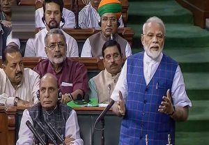 PM Modi to reply today in LS on Motion of Thanks for President's Address