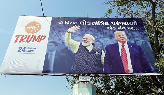 'Namaste' replaces 'Kem Cho': Centre renames Donald Trump's Gujarat event