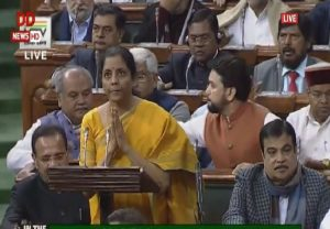 WATCH: FM Nirmala Sitharaman presents Budget in Lok Sabha