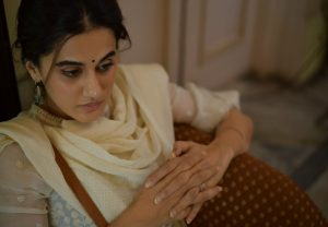 Taapsee Pannu shares 'Thappad' BTS