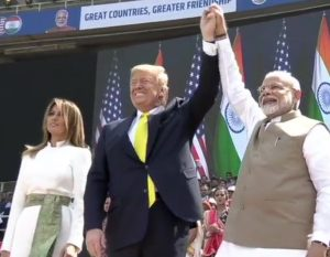Namaste Trump event Live Updates | Visit of President Trump to India with his family shows strong ties between India and US: PM Modi