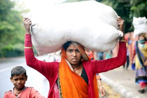 21 Days of Lockdown: Migrant labourers walk for days to reach home