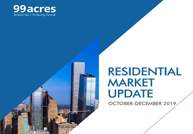 Property prices remain unchanged across Delhi-NCR, Mumbai, Pune and Chennai: 99acres Insite Report