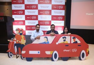 redBus launches 'rPool'- its Carpooling platform for intra-city commute, in Delhi