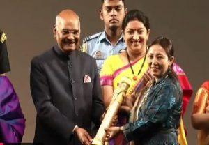 President Kovind presents 'Nari Shakti Puraskar' to inspirational women