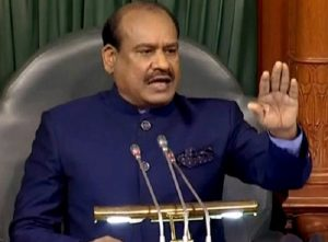 LS Speakar Om Birla warns MPs of suspension over ruckus on Day 2, bans placards in House