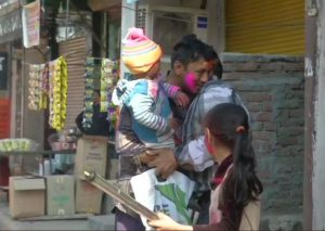 Holi celebrations in violence-hit North-East Delhi amid heavy security