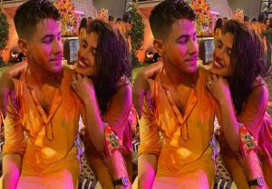 Nick Jonas celebrates his first Holi with Priyanka Chopra in Mumbai