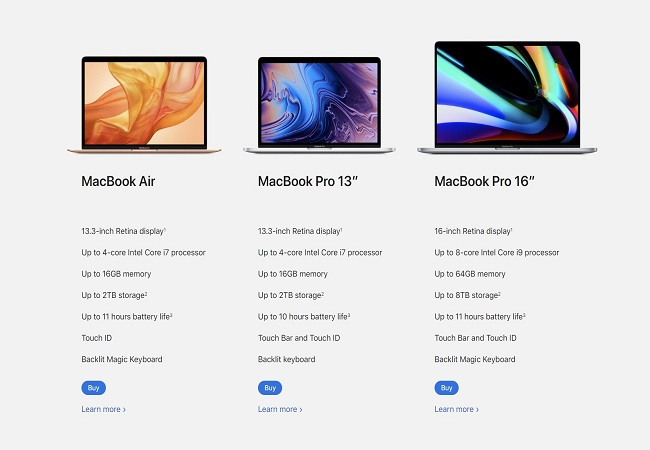 Apple launches new MacBook Air with more storage, magic keyboard
