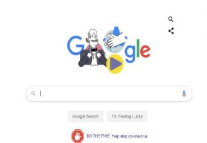 Google dedicates doodle to scientist who discovered benefits of handwashing