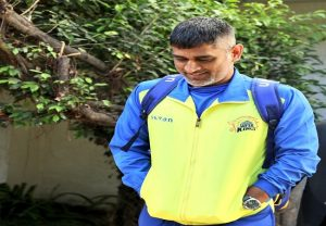 Dhoni leaves from CSK's training camp amidst coronavirus scare