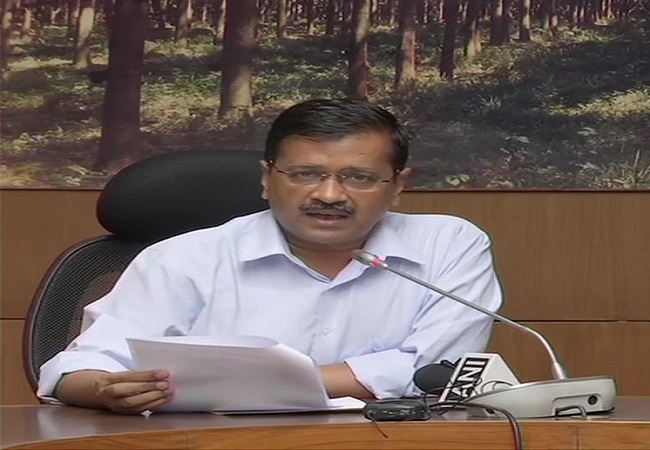 Kejriwal announces complete lockdown in Delhi from 6 am tomorrow till Mar 31