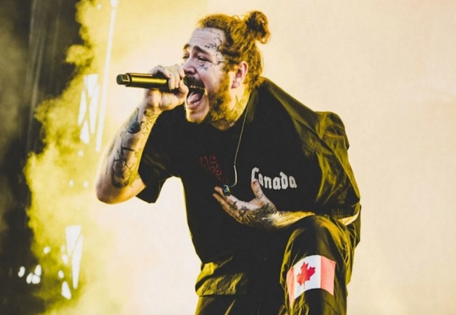 Post Malone denies using drugs after sparking concern over onstage behaviour