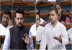 Rahul accuses govt in LS of not disclosing names of top 50 bank defaulters, Anurag Thakur gives him befitting reply