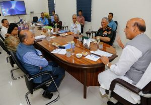 Rajnath Singh reviews Defence Ministry's action plan to deal with COVID-19
