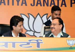 BJP announces 9 candidates for RS polls, fields Scindia from Madhya Pradesh