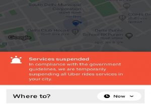 Ola, Uber temporarily suspends all ride services in Delhi till March 31