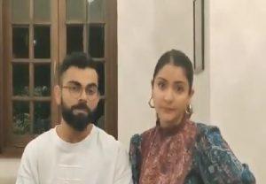 COVID-19: Virat Kohli, Anushka Sharma bat for staying at home