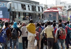 Free bus ride for migrant workers to home: Karnataka Cong pays Rs 1 crore for bus fare