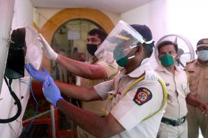 Fresh 121 Covid-19 cases in Maharashtra Police, total infections cross 9,000 till date