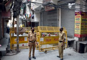 Another area de-contained, total containment zones in Delhi now 81