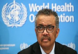Director-General of WHO Tedros Adhanom Ghebreyesus self-isolates after coming in contact with COVID-19 infected person