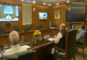 Amit Shah appreciates work of doctors, assures them of security (Video)