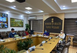 Harsh Vardhan and MoS Health Ashwini Kumar Choubey hold meeting with state health ministers over COVID-19
