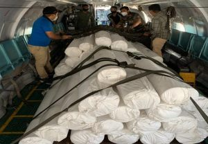 Combating COVID-19: IAF lifts raw materials for PPE production by DRDO