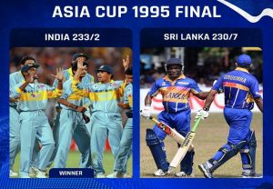On this day in 1995: India won its fourth Asia Cup title