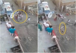 Indore mob chases policemen, days after attacking healthcare workers (VIDEO)