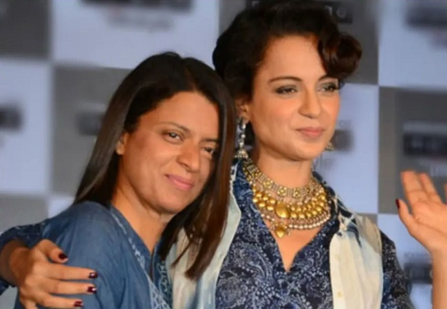 Police complaint against Kangana Ranaut over her video supporting sister Rangoli
