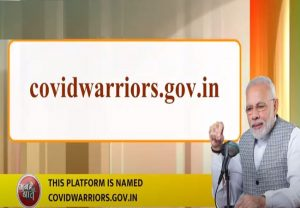 Government has come up with digital platform to help link Covid warriors, says PM Modi