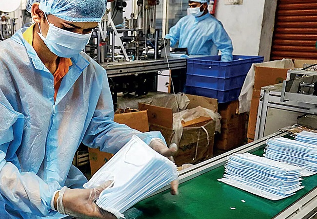 Indian Railways produce about 6 lakh face masks, over 40,000 litres of hand sanitiser