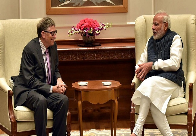 Bill Gates writes to PM Modi, commends his leadership in dealing with COVID-19