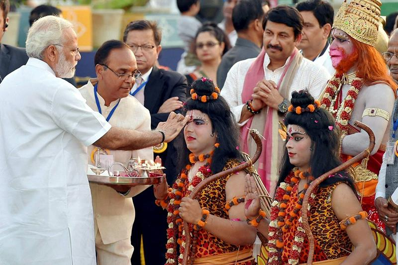 Jai Shri Ram: PM Narendra Modi greets people on occasion of Ram Navami